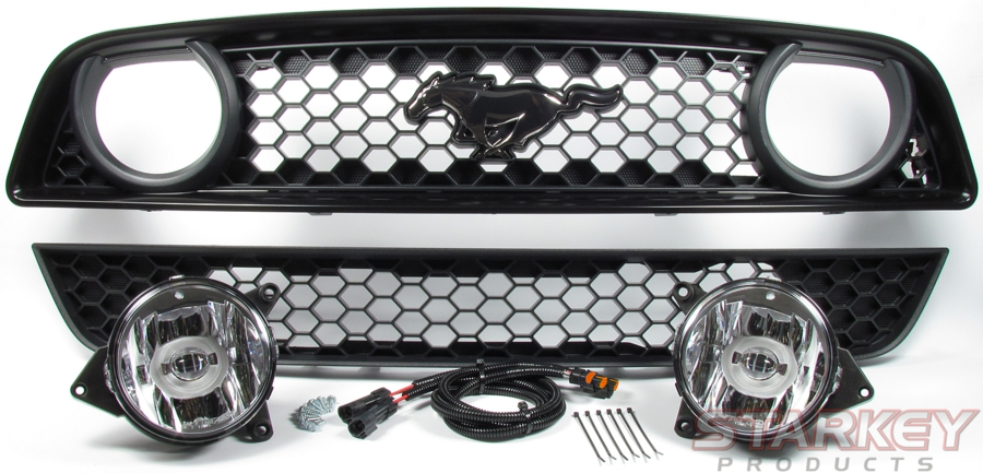 mustang gt-style fog light conversion kit
