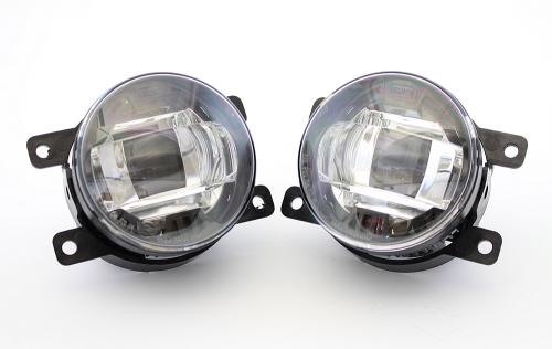Fog Lights LED Luxeon With Projector Housing - Set (2005-2017)