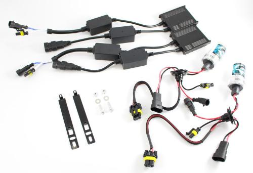 Diode Dynamics HID Mustang Fog Light Conversion Kit - Fits All (2005-2014)