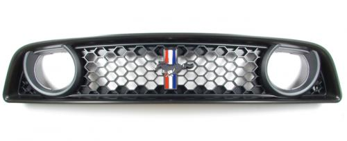 Boss 302 Grille and Tri-Bar Pony Emblem - Fits All (2013-2014)