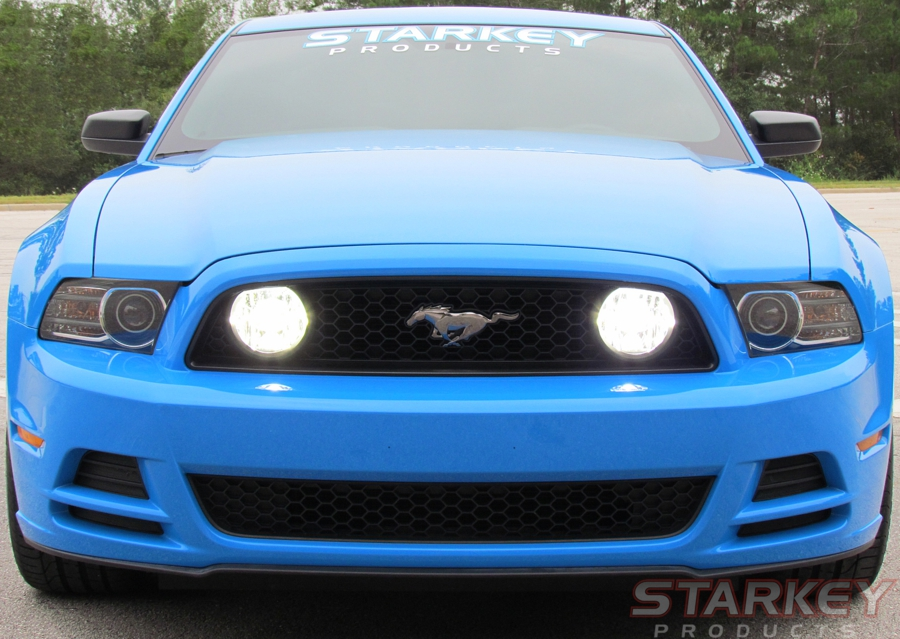 Mustang Gt Style Led Fog Light Kit Fits V6 And Boss 302