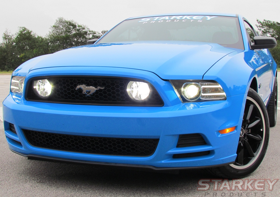Mustang GT Style Fog Light Conversion Kit Fits V6 and GT