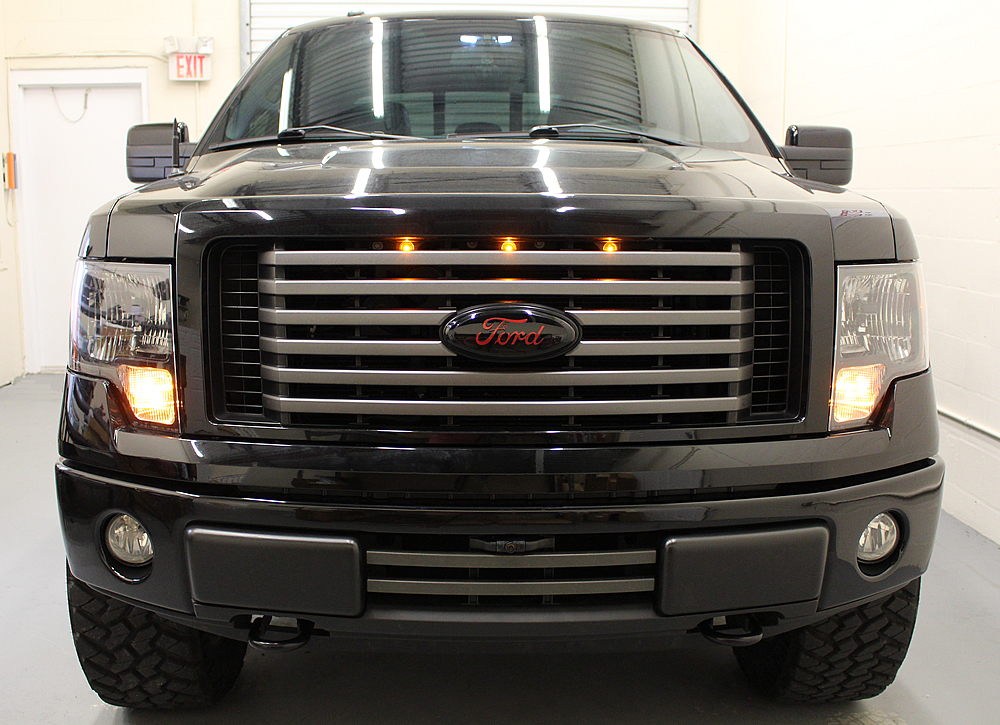 Starkey Ford F-150 Raptor Style Grille Light Kit (2009-2014) on