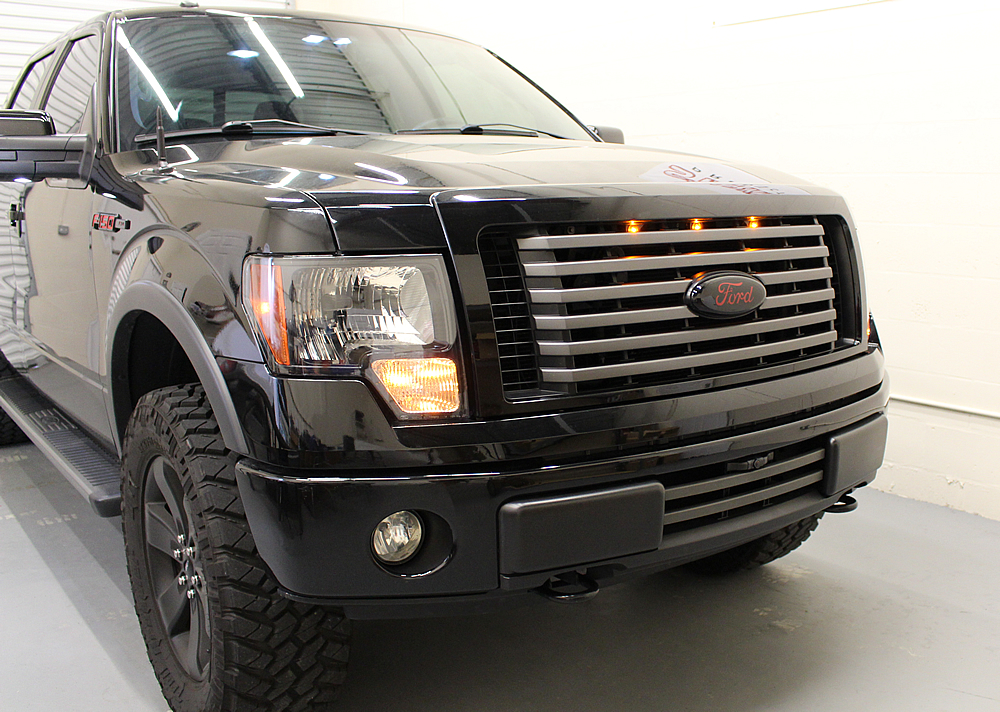 Starkey 2009 2014 Ford F 150 Raptor Style Grille Light Kit