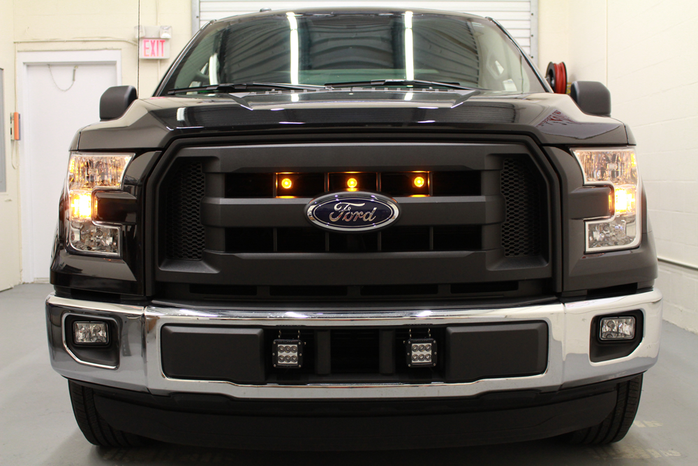2015 Ford F150 Grill >> Starkey Ford F 150 Raptor Style Grille Light Kit 2015 2017