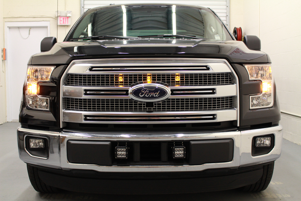 starkey 2015 ford f 150 raptor style grille light kit everything included 5 year limited. Black Bedroom Furniture Sets. Home Design Ideas