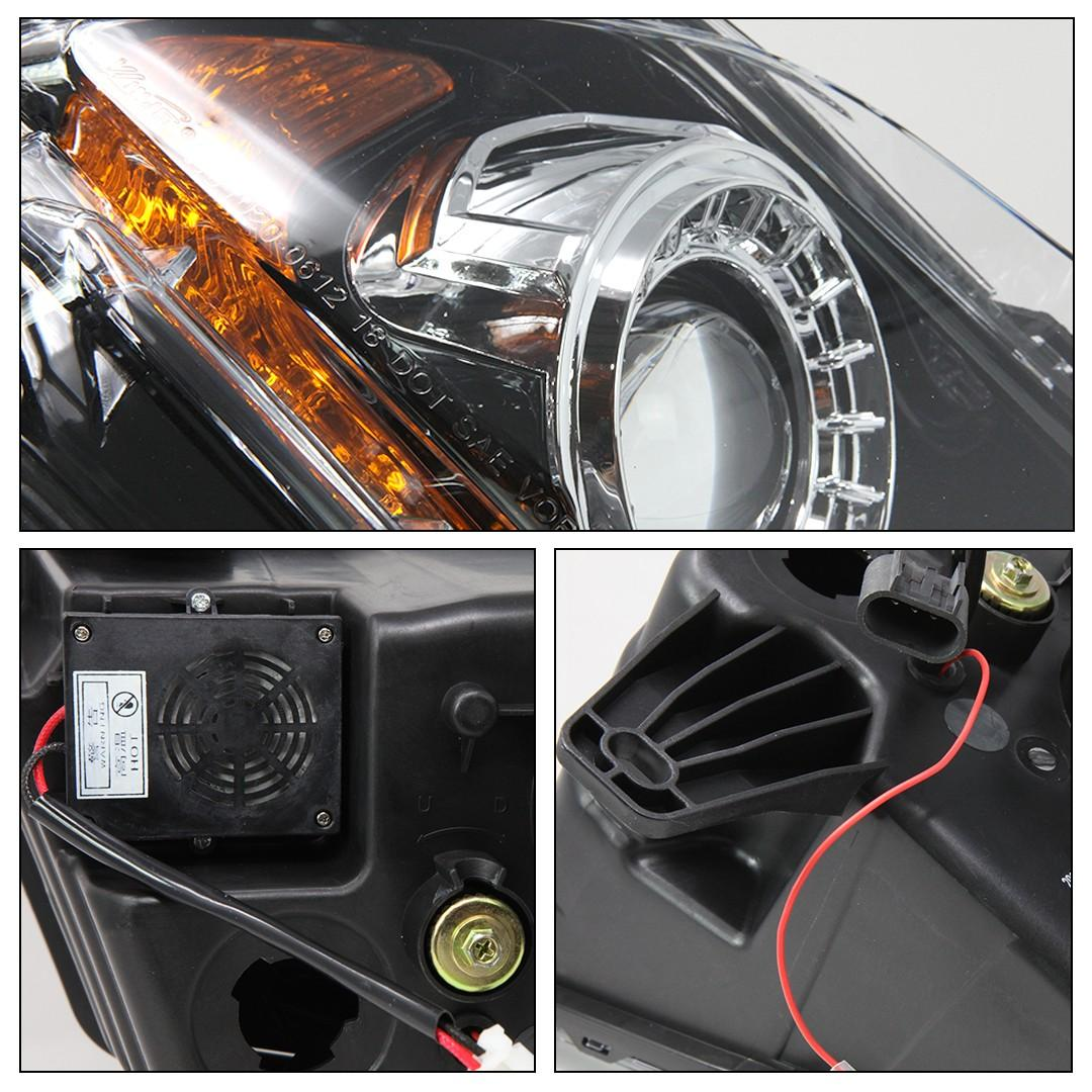 2010 2012 Mustang Headlights Styled After 2018 S550 Mustang