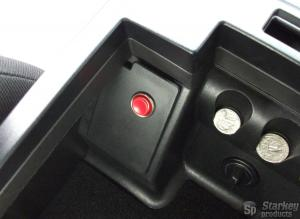 Mustang Center Console Mounted Trunk Release Button Kit (2005-2009)