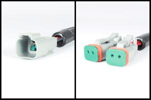 Wiring Adapters Deutsch Receptacle to Deutsch Dual Output - Set