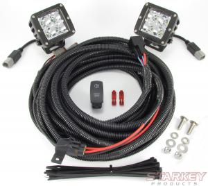 Rigid Backup/ Auxiliary Lighting Kit - Fits All Truck / SUV
