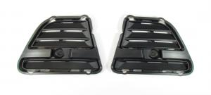 Mustang Lower Valance Block-Off Plates Set - Fits All (2013-2014)